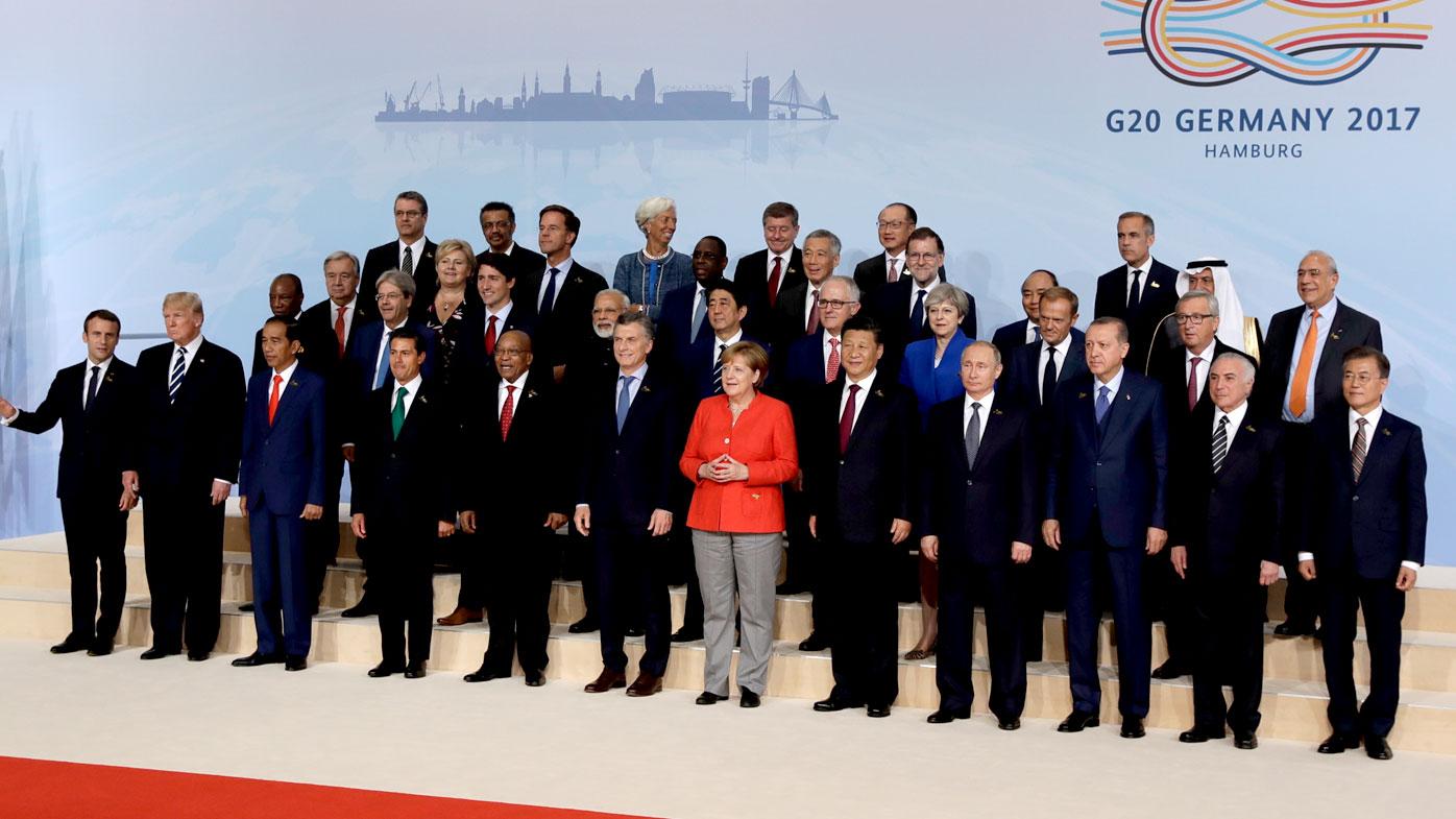 G20 leaders pressure Trump on climate