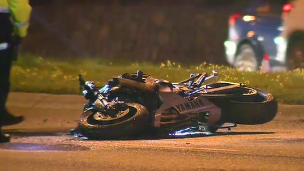 Melbourne couple on the run after fatal crash with motorcyclist