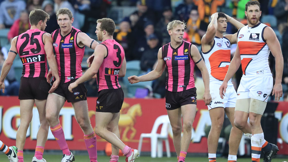 AFL: GWS Giants 'suffer' second draw in as many weeks, this time against Hawthorn