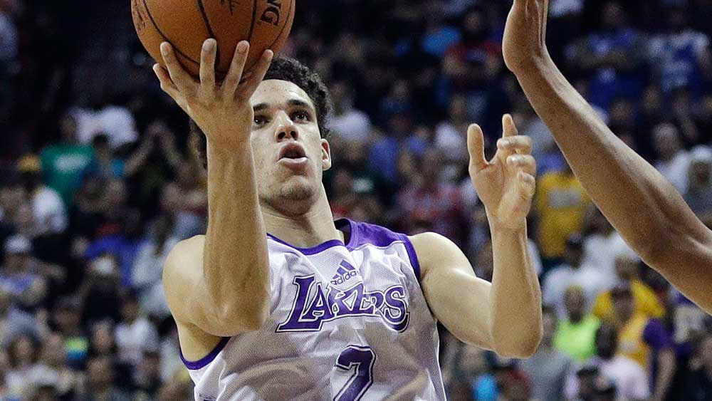 Lonzo Ball made a disastrous start to his Lakers career. (AAP)