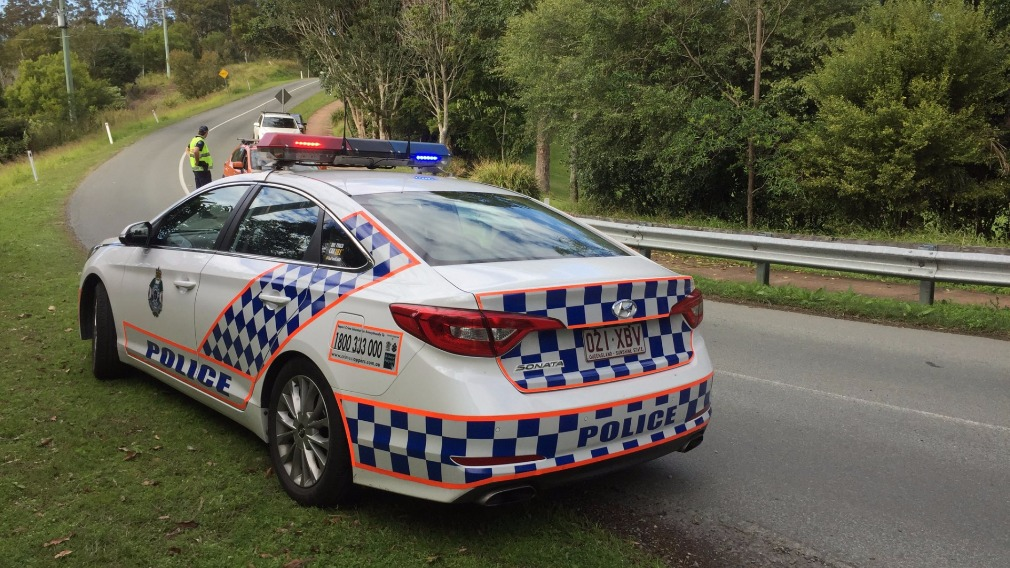 A male cyclist died in a crash on Mount Nebo
