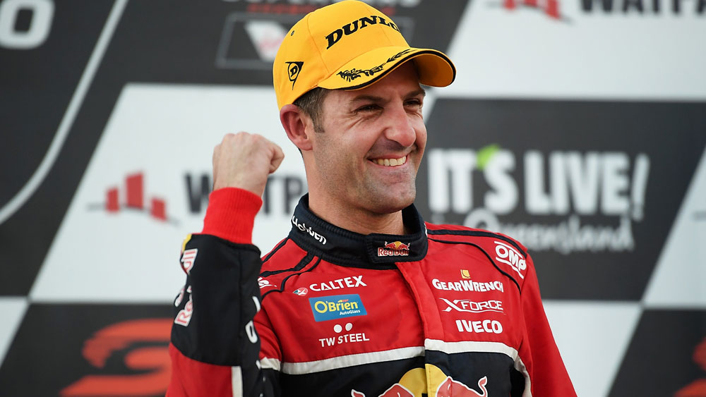 Jamie Whincup equals Craig Lowndes' Supercars all-time winning record