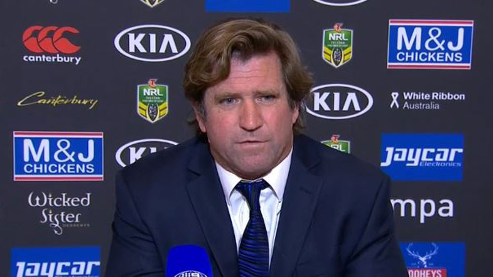 Canterbury coach Des Hasler lays boot into NRL referees following win over Newcastle