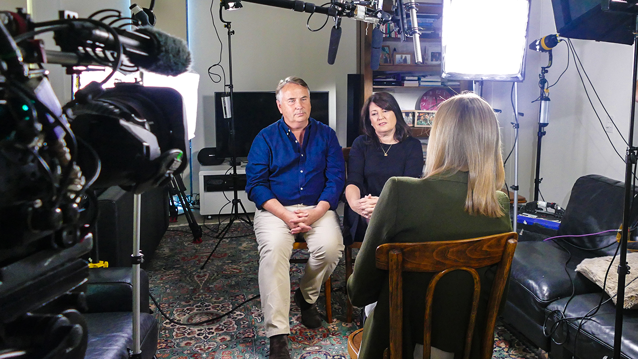 Ralph and Kathy Kelly have advocated for youth mental health. (60 Minutes)