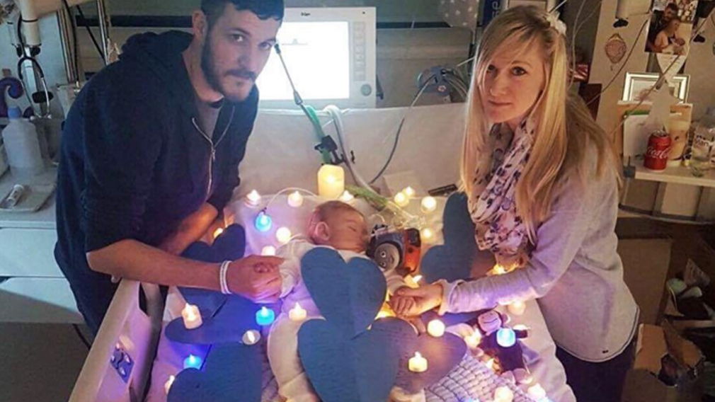 Connie Yates and Chris Gard want baby Charlie to receive experimental treatment in the US