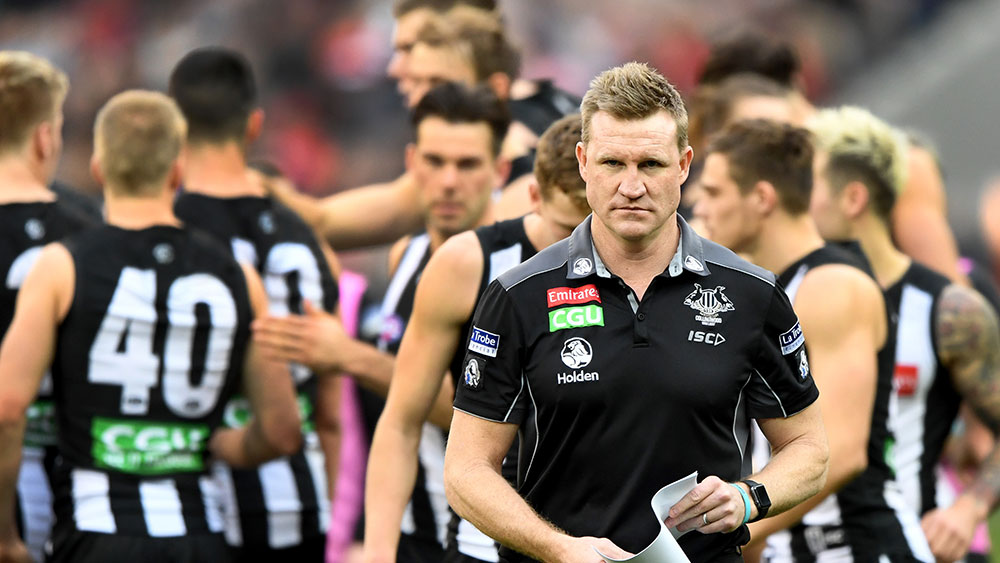 Just a matter of time before Nathan Buckley and Collingwood Magpies part ways