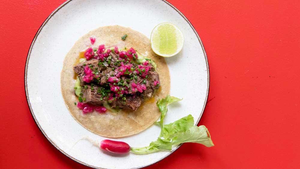 Bad Hombres' beef short rib taco recipe
