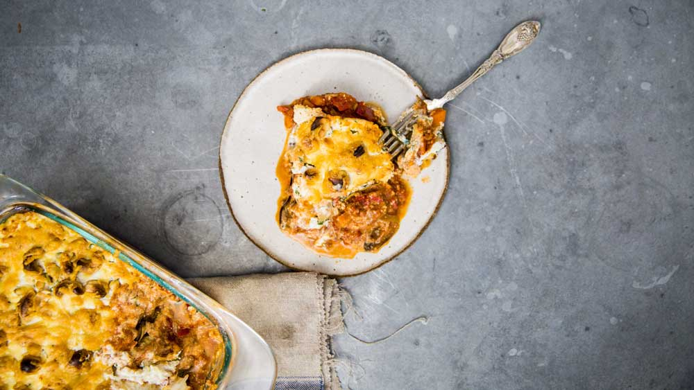 Guy Turland's beef, zucchini and eggplant lasagne recipe