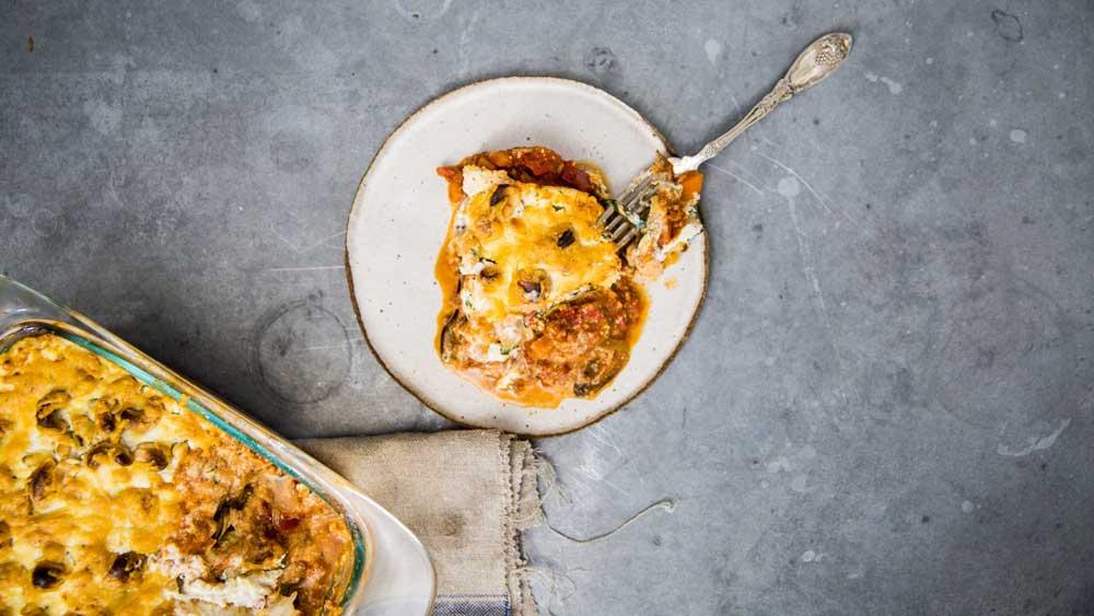 Guy Turland's beef, zucchini and eggplant lasagne recipe