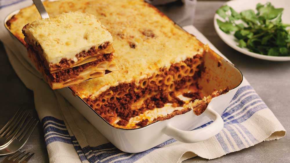Macaroni pastitsio recipe