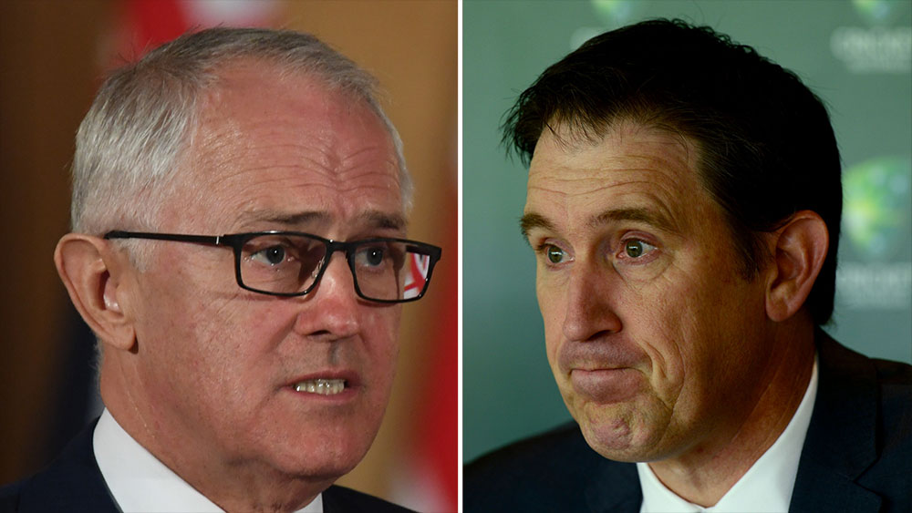 Malcolm Turnbull urges Cricket Australia to resolve pay dispute with ACA