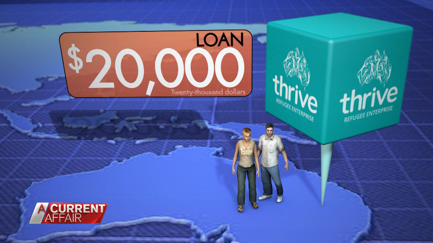 Thrive offers refugees and asylum seekers loans of up to $20,000.