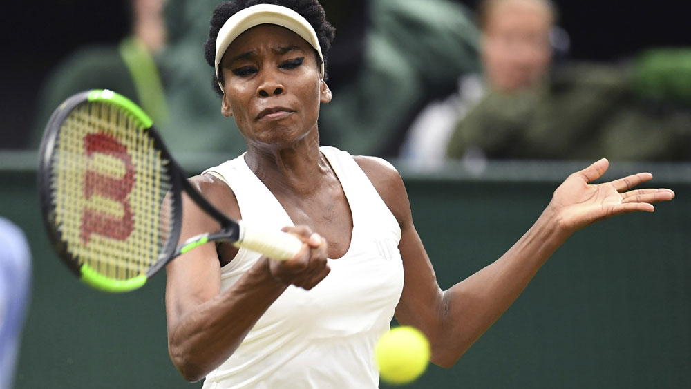 Venus Williams reaches her 10th Wimbledon semifinal