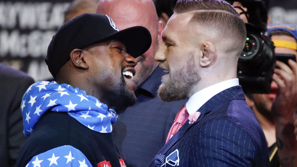 Floyd Mayweather vs Conor McGregor: Date, time, location, history
