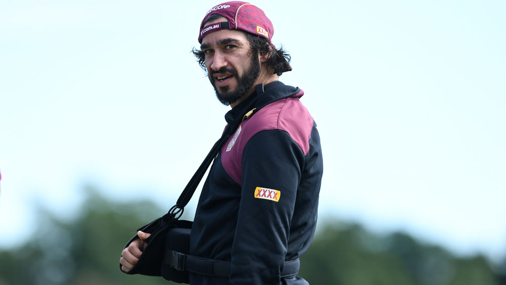 Injured Queensland five-eighth Johnathan Thurston tells Maroons don't win Origin for me