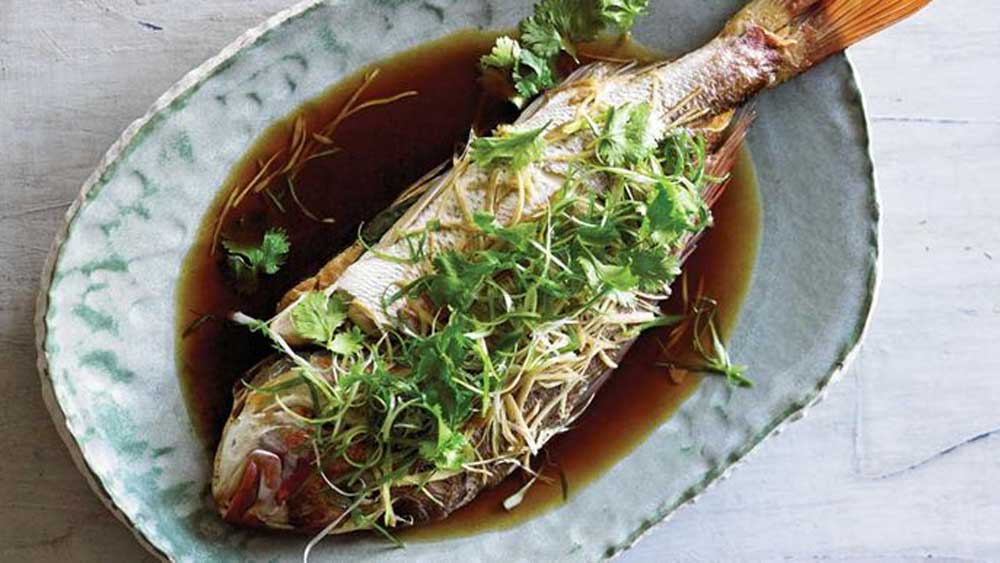 "Recipe: <a href=""http://kitchen.nine.com.au/2017/07/12/10/00/adam-liaws-steam-oven-snapper-with-ginger-and-spring-onion"" target=""_top"">Adam Liaw's steam oven snapper with ginger and spring onion</a>"