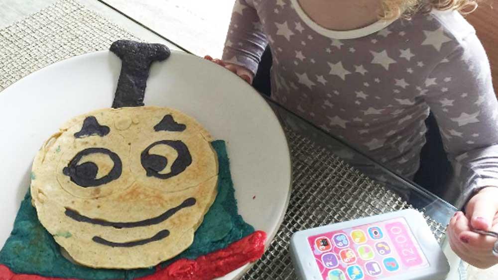 Instagram/@jimmykimmel pancake art