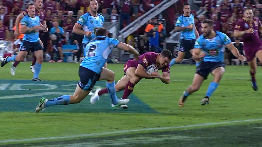 State of Origin: NSW defence saves two certain Queensland tries