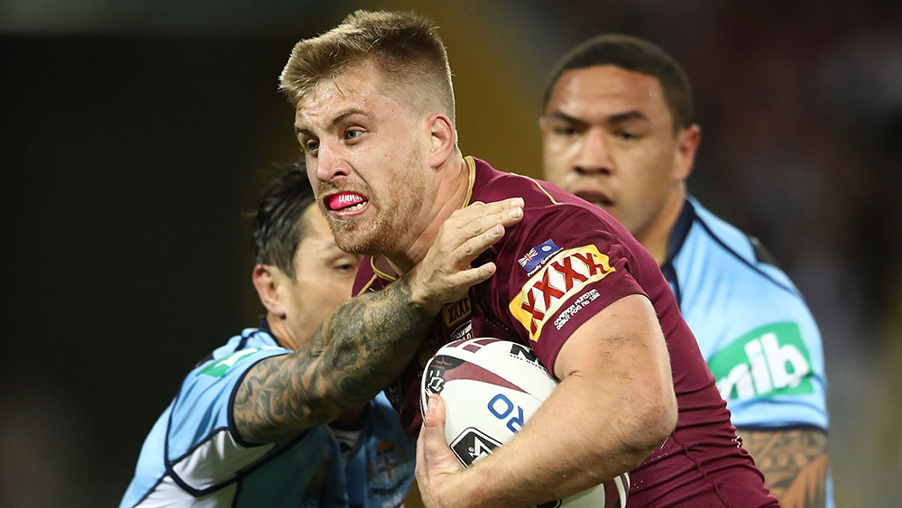 Queensland five-eighth Cameron Munster enjoys dream State of Origin debut