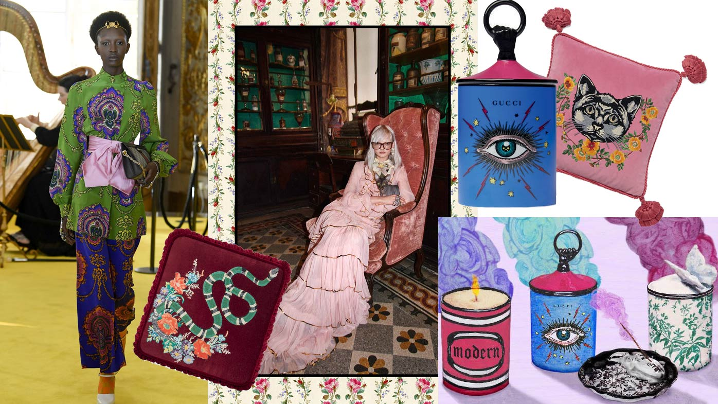 Gucci Is Launching A Home Decor Collection 9homes