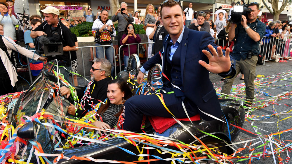 Jeff Horn living it up in Los Angeles following win over Manny Pacquiao