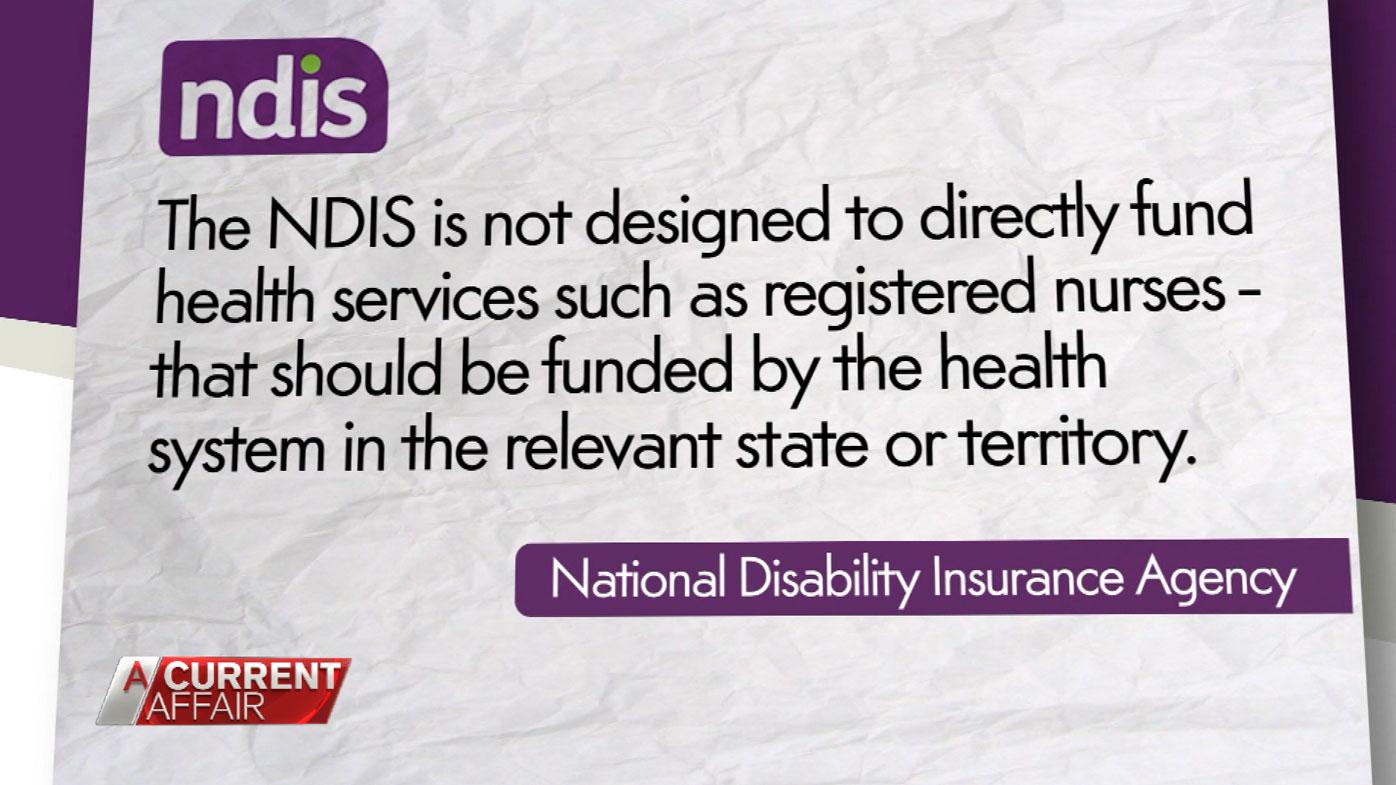 The NDIS issued a statement.