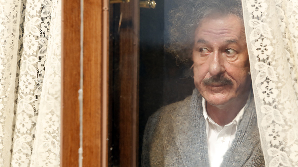 Geoffrey Rush is nominated for his role as Albert Einstein in 'Genius'. (AAP)
