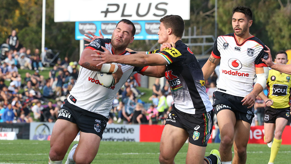 It's a crunch game for Newcastle and Penrith to kick off round 19 of the NRL. (AAP)
