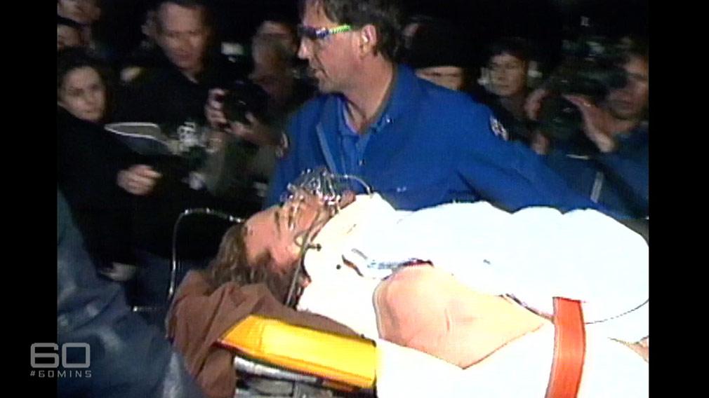 Stuart Diver is rescued. (60 Minutes)