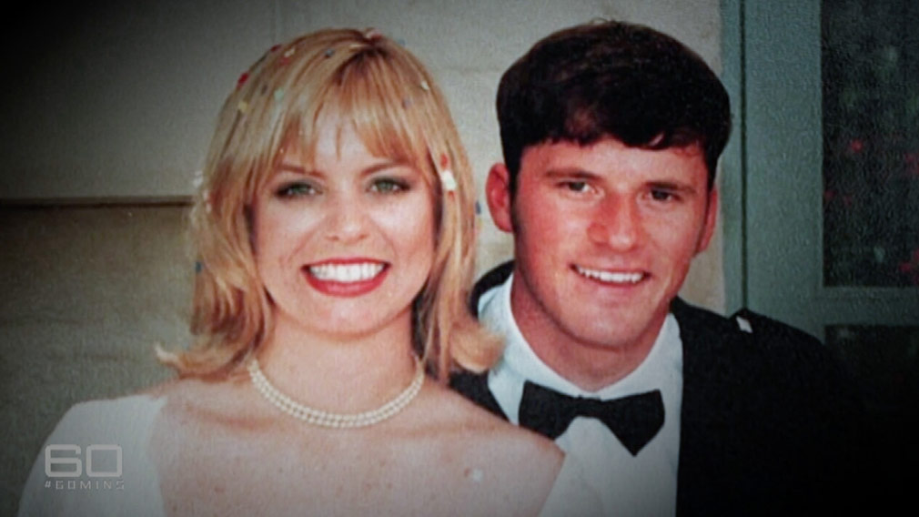 Sally and Stuart Diver on their wedding day. (60 Minutes)