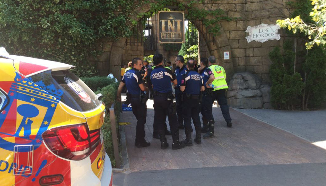Dozens injured in roller coaster crash at Spanish theme park