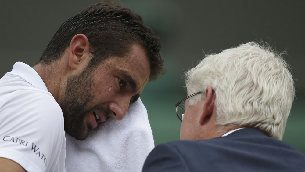 Marin Cilic admits he cried tears of despair after losing the Wimbledon final to Roger Federer