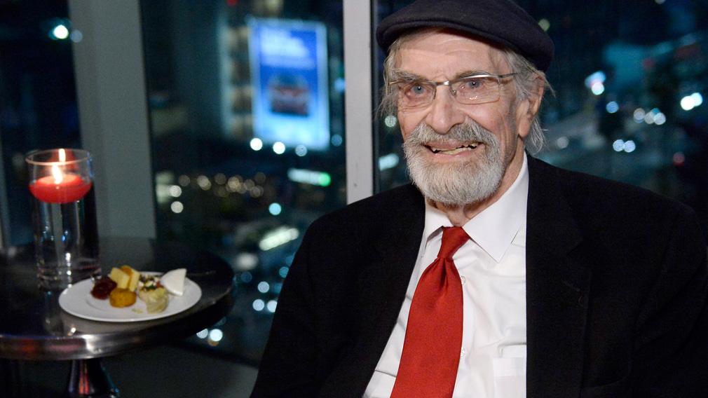 The veteran actor died aged 89. (AAP)