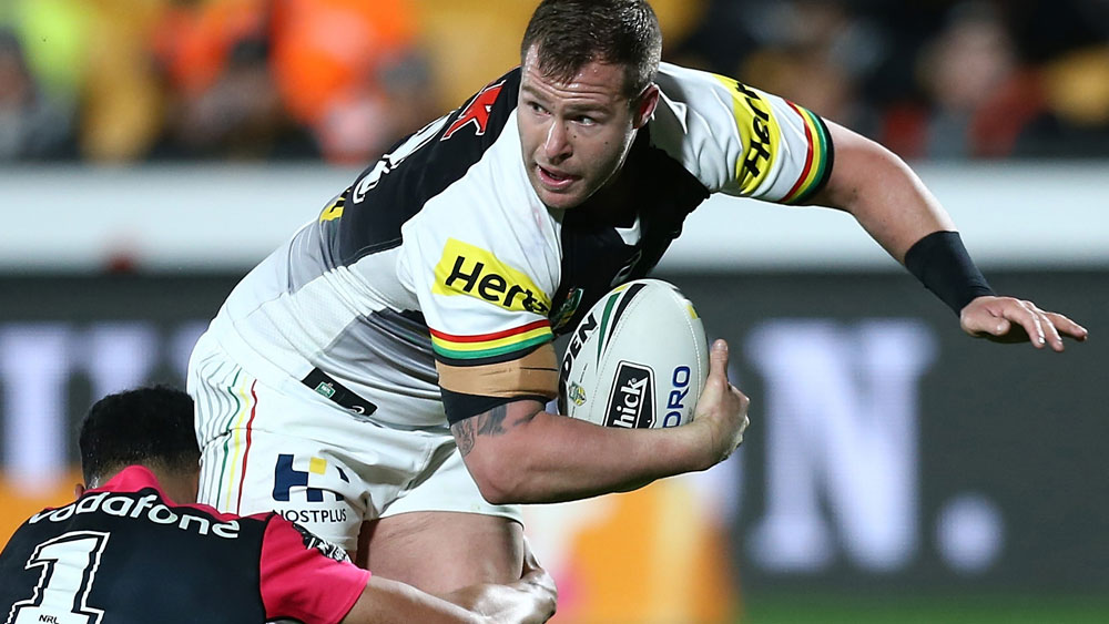 Penrith Panthers forward Trent Merrin faces an extended stint on the sidelines. (AAP)