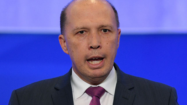 Peter Dutton could become one of the most powerful ministers in parliament after an overhaul of national security agencies. (AAP)