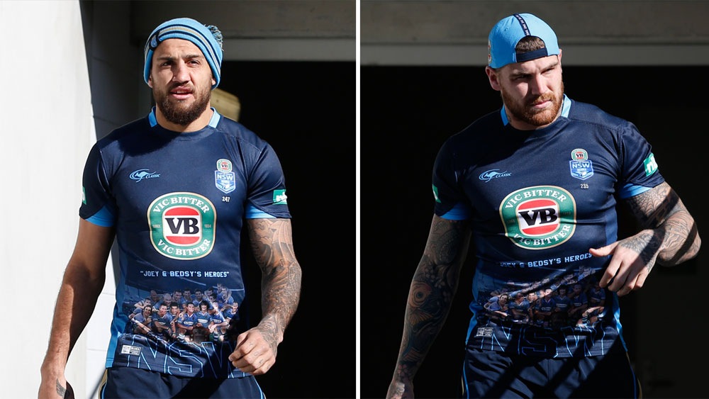 NSWRL to review pub session by Josh Dugan and Blake Ferguson five days before State of Origin decider