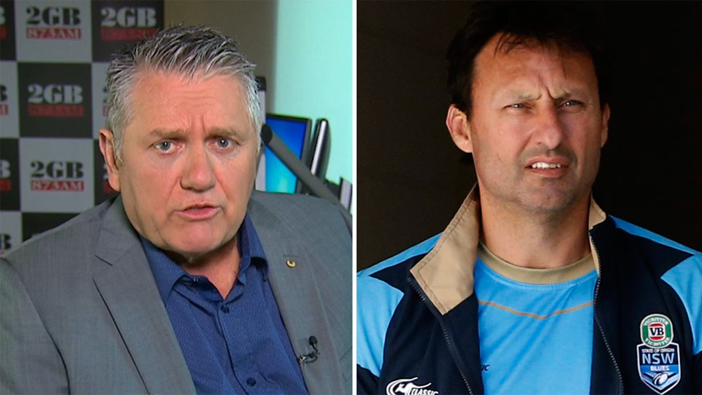 Ray Hadley and Laurie Daley.