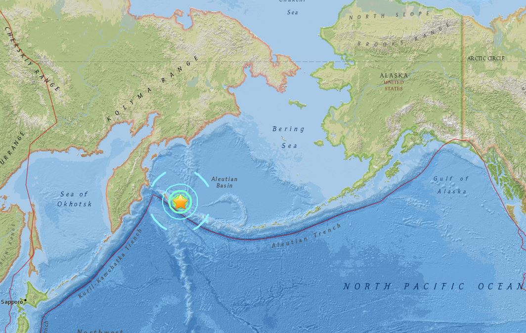 Tsunami warning after magnitude 7.4 earthquake hits Alaska