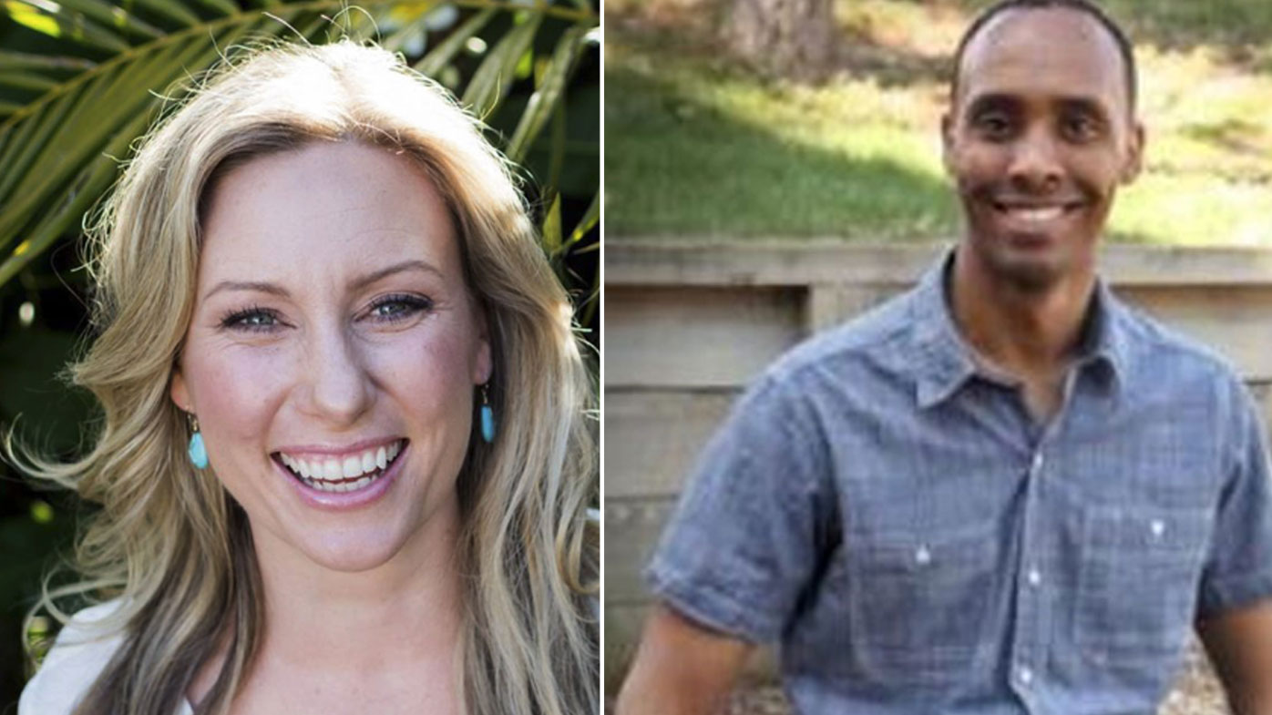 Australian Justine Ruszczyk and Somali-born police officer Mohamed Noor.