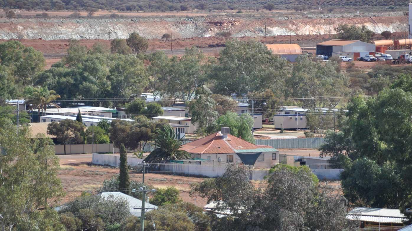 Leonora, in Western Australia. (AAP)