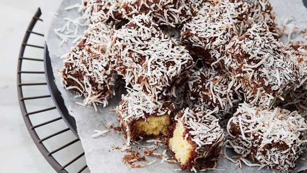 "Recipe:<a href=""http://kitchen.nine.com.au/2017/07/19/15/03/anna-polyvious-hot-chocolate-soaked-lamingtons"" target=""_top"">Anna Polyviou's hot chocolate soaked lamingtons</a>"