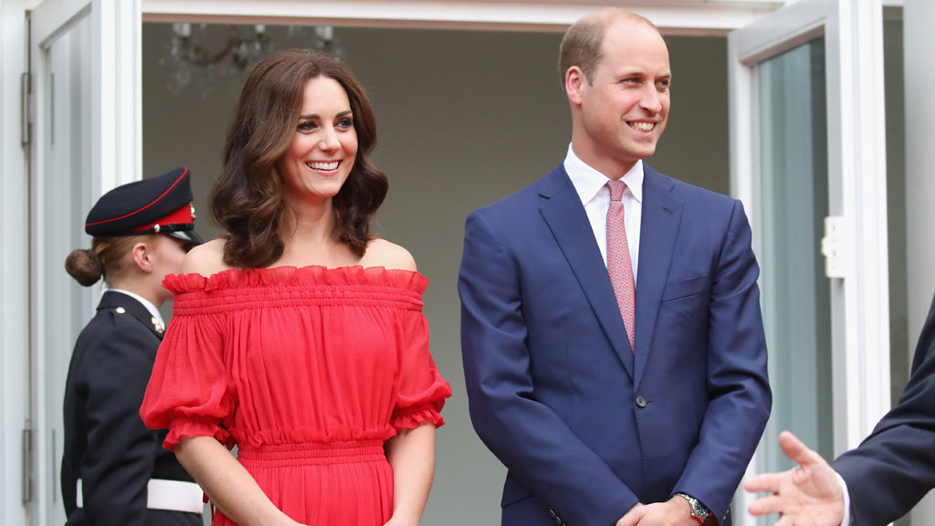 William emerges triumphant after rowing race with Kate