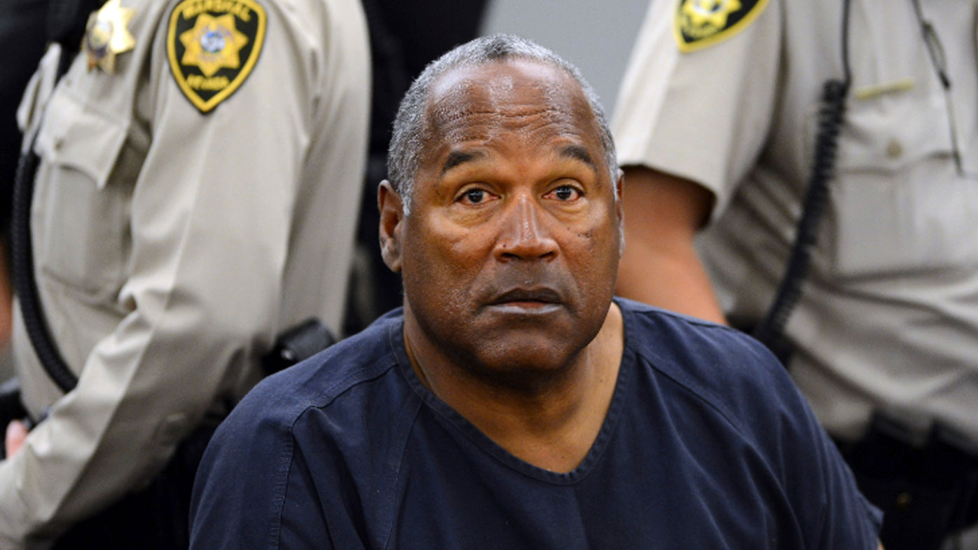 OJ Simpson is set to appear before the parole board (AP Photo/Ethan Miller, Pool, File)