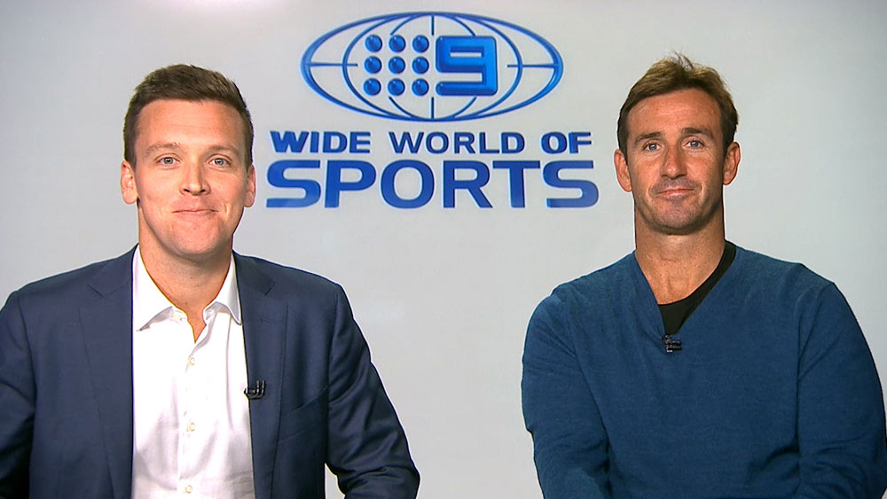 James Bracey and Andrew Johns.