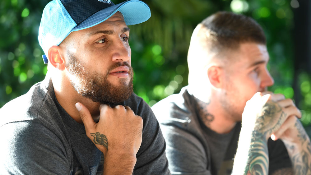 Blake Ferguson and Josh Dugan have been cleared by the NSWRL. (AAP)