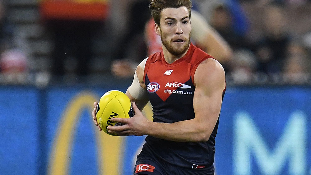Jack Viney will make a welcomed return for Melbourne. (AAP)