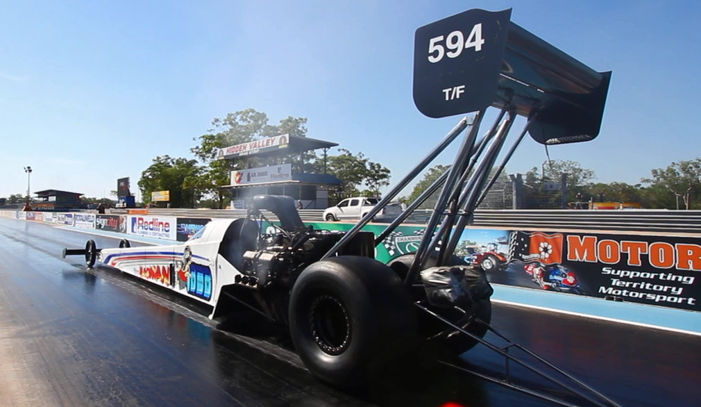 Nitro Up North is heading back to Hidden Valley Drag Strip this weekend. (9NEWS)