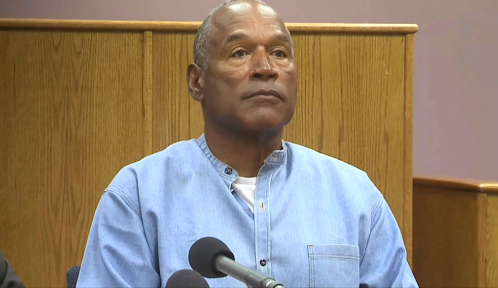 OJ Simpson making bid for freedom on live TV