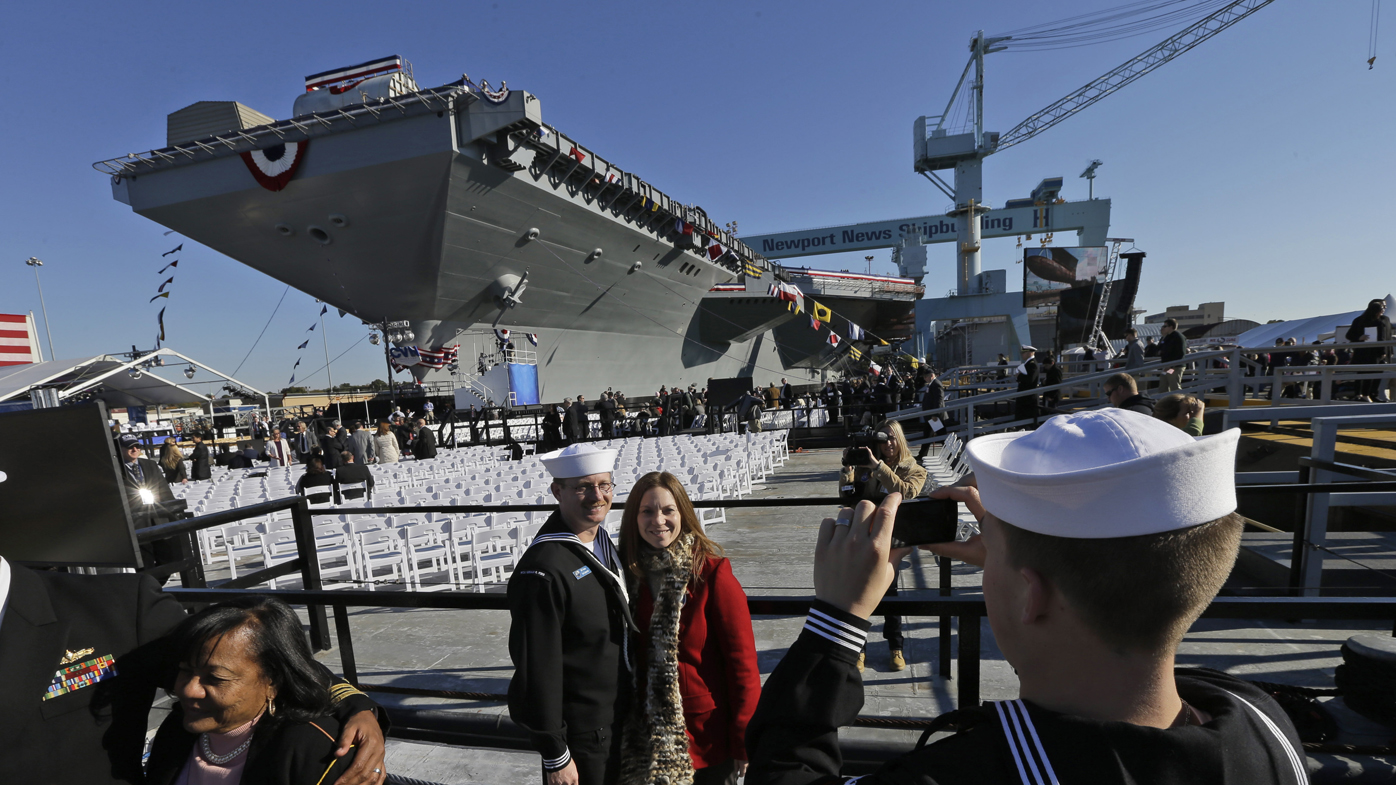 USS Gerald R. Ford: The world's most expensive warship goes into active duty
