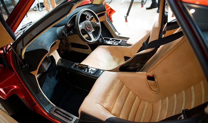 Superior (A McLaren F1 Interior. (Image: Getty))